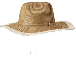 BCBGMaxazria Frayed Panorama Straw Hat